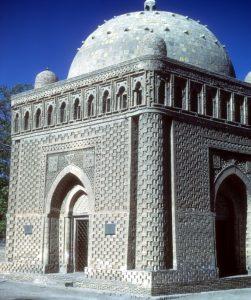 Bokhara, Uzbekistan. Tomb of the Saint, Bokhara former USSR, now Uzbekistan