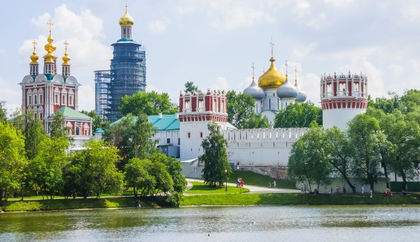 The Novodevichy Convent in Moscow, Russia