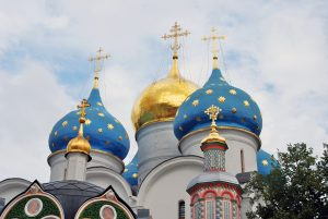 Glorious Russian Capitals: Moscow and St. Petersburg. Trinity Sergius Lavra at Sergiev Posad