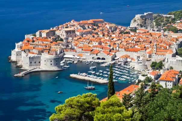 Croatia's Coast. Split city. La città vecchia, Dubrovnik