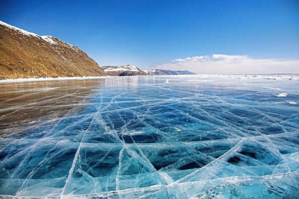 Lake Baikal. Siberia, Russia. Winter baikal