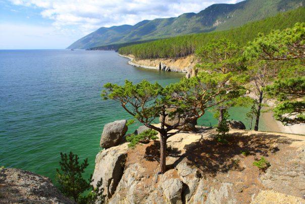 Lake Baikal. Siberia, Russia. Lake Baikal. Summer Day