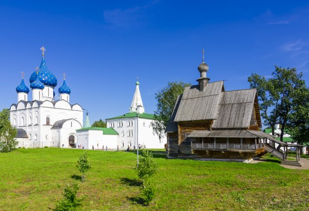 Golden Ring. Part 1. Landscape and natural surroundings of the town of Suzdal