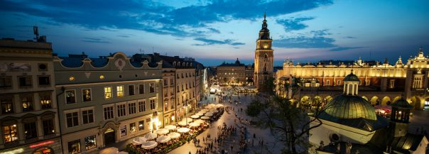 5 Reasons to visit Eastern Europe. Krakow Market Square, Poland