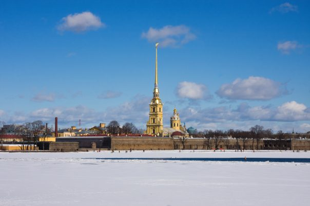 Peter and Paul Fortress. St. Petersburg, Russia.