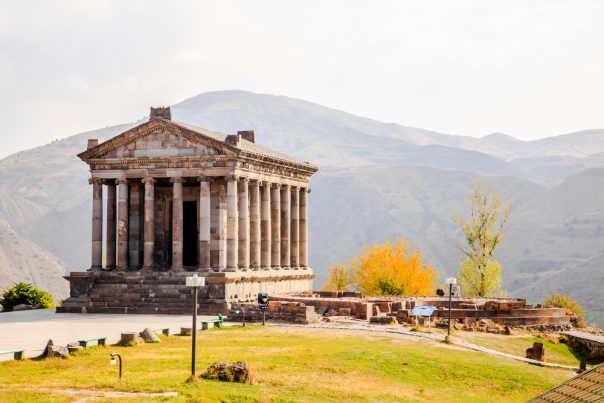 Garni Temple. Armenia.