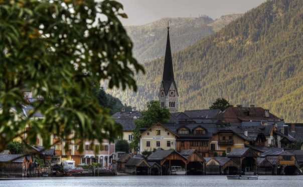 Beautiful Hallstatt. Austria.