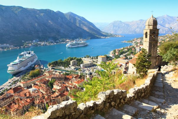The Old City of Kotor. Montenegro.