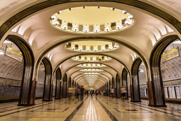 The Beautiful Moscow Metro