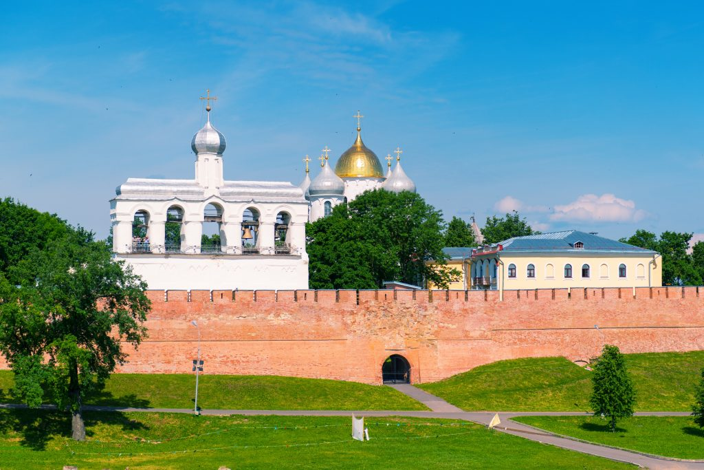 The Kremlin in Veliky Novgorod (Novgorod the Great), Russia