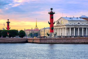 Glorious Russian Capitals: Moscow and St. Petersburg. St. Petersburg City Tour. Saint Petersburg Vasilievsky Island