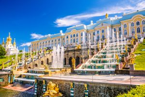 Glorious Russian Capitals: Moscow and St. Petersburg. Peterhof Grand Palace and Park