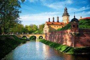 Mysteries of Minsk, Prague and Dresden Tour. Nesvizh Castle, Belarus